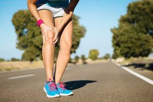 sports massage knee